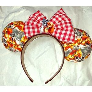 Lady & the Tramp Mickey Ears ✨